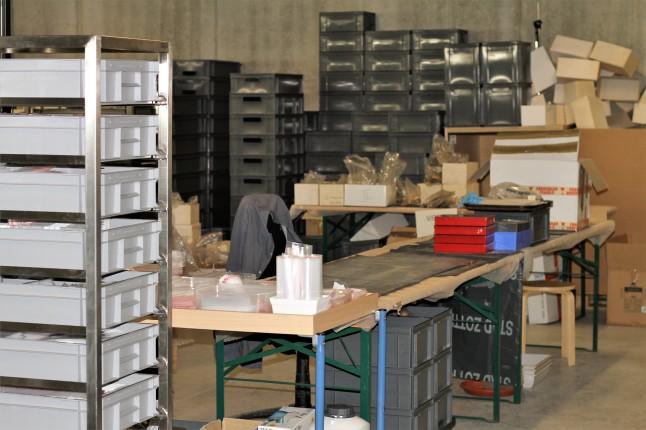 Archeologisch museum Velzeke - binnen - collectie - 24 inpakken2