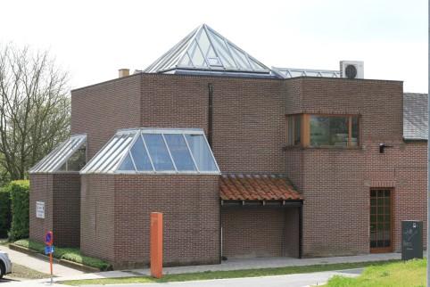Archeologisch museum Velzeke - buiten - gebouw