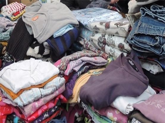 DDL oosterzele Kiwanis ophalen kleren en Cheque (3)