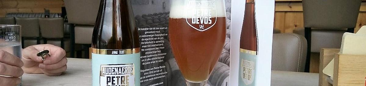 Audenaerde Petre Devos bier Audenaarde banner