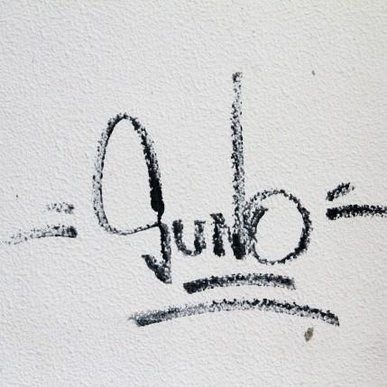 GUNO - Oud gemeentehuis - plaats Zottegem - strookje muur achteraan thv Heldenlaan - IMG_5318