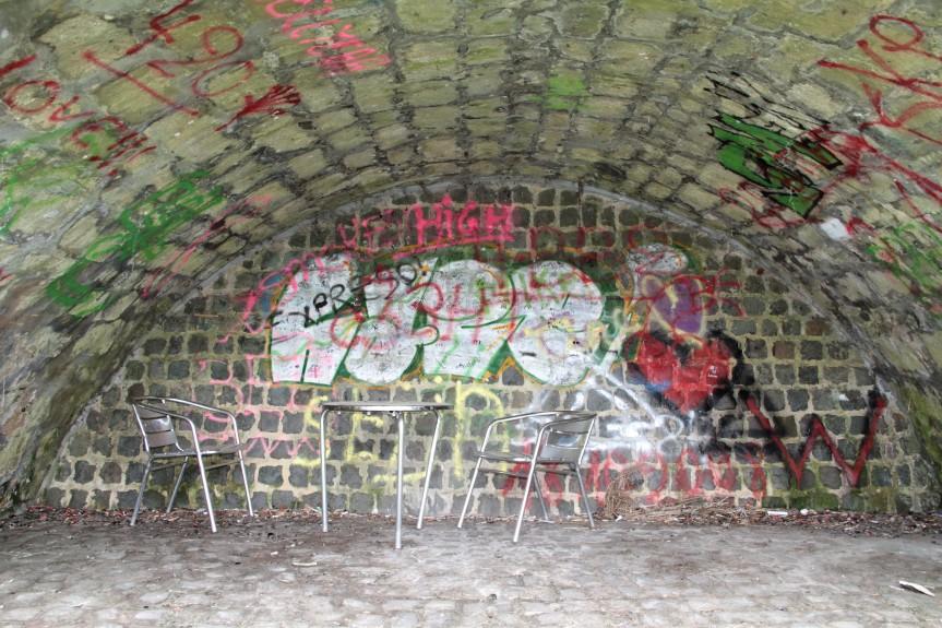 tags onder de brug achter kasteel - IMG_5488