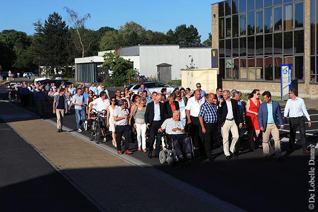 DDL merelbeke Burg. Maenhautstraat feestelijk geopend (4)