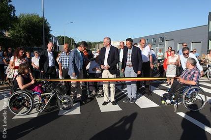 DDL merelbeke Burg. Maenhautstraat feestelijk geopend (5)