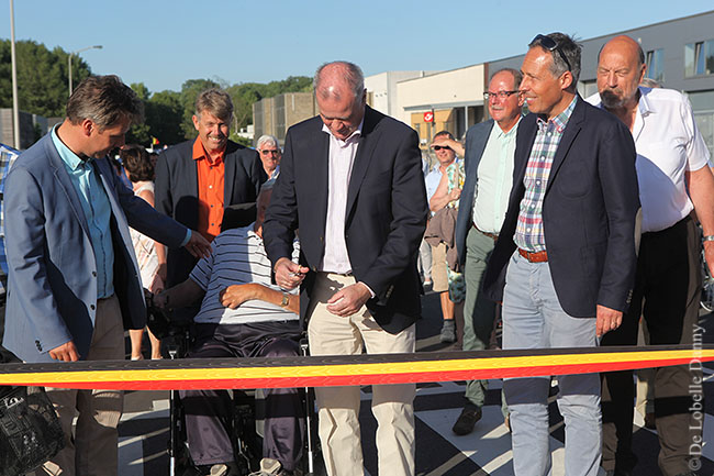 DDL merelbeke Burg. Maenhautstraat feestelijk geopend (6)