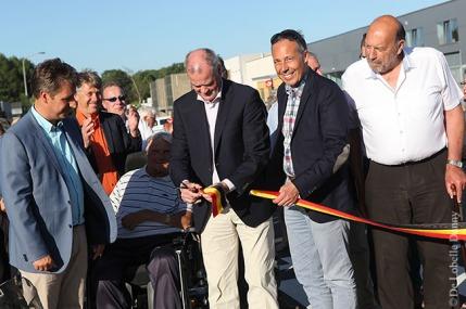 DDL merelbeke Burg. Maenhautstraat feestelijk geopend (7)
