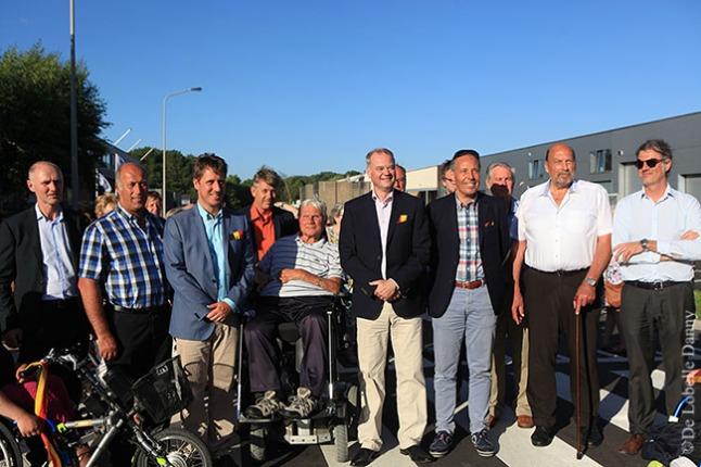 DDL merelbeke Burg. Maenhautstraat feestelijk geopend (8)