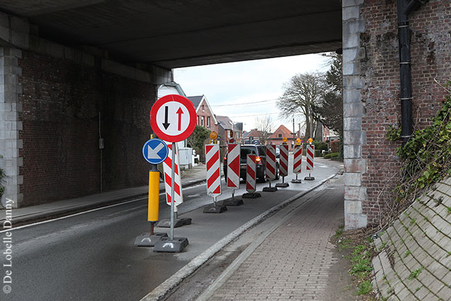 DDL wegversmalling fraterstraat (2)