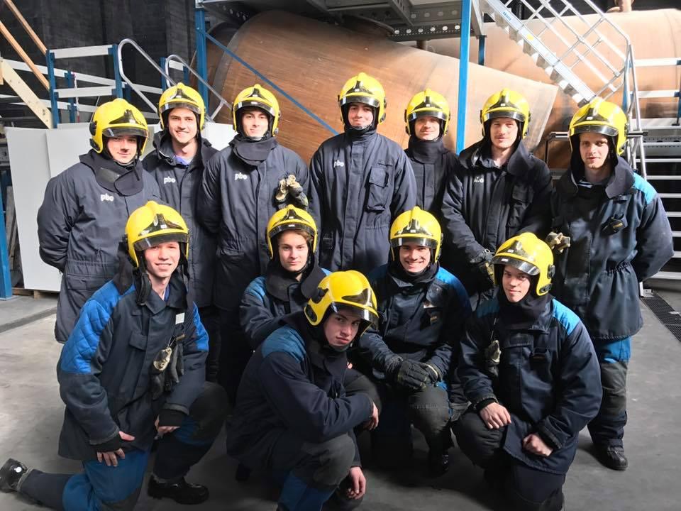 KA geraardsbergen maatschappelijke veiligheid groepsfoto brandweer