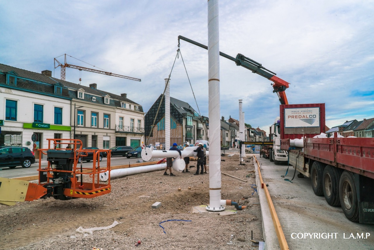 LAMP Sint-Lievens-Houtem stadskernrenovatie 3