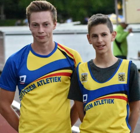 2017 08 18 Zele PK Steeple Bjarne en Lucas