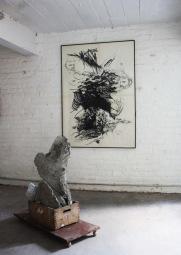 kunst_zelfportret_boomsculptuur_beton
