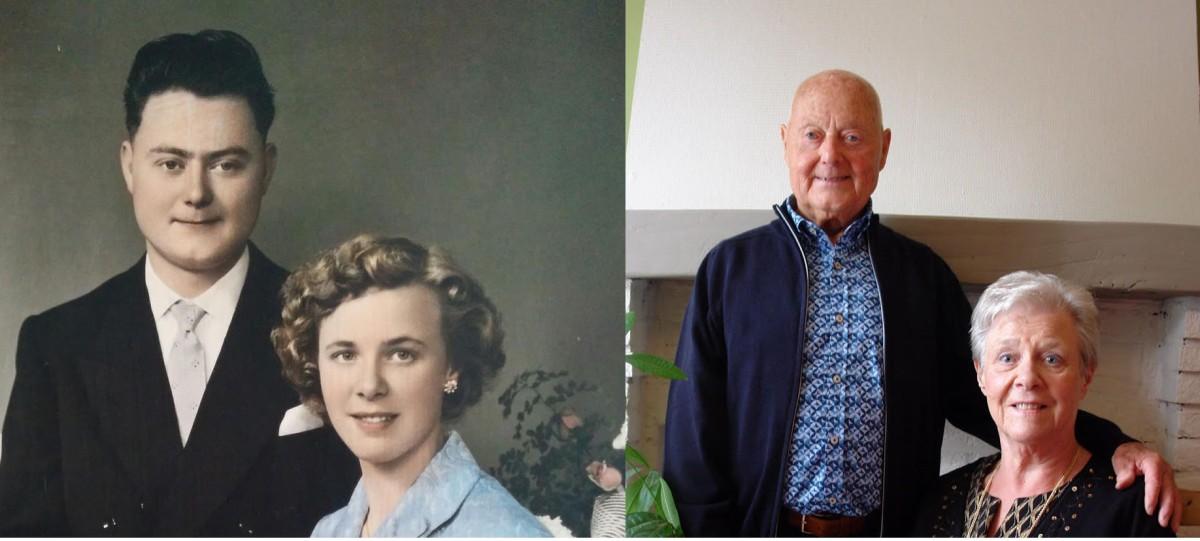 Geraardsbergen: Diamanten huwelijk voor André Ronsyn en Yvonne Gerard