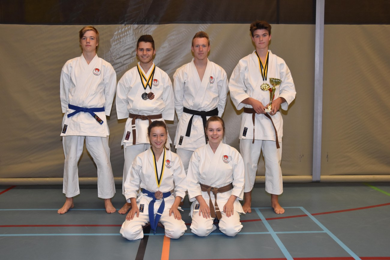 Groepsfoto Vlaams kampioenschap 01102017